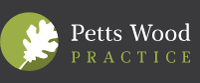 Petts Wood Practice Footer Logo